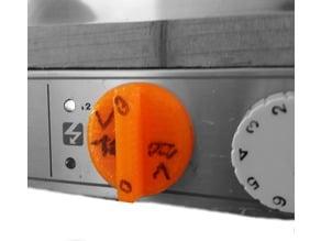 Swift Caravans, Minuette 12 fridge button
