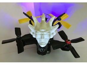 Evil Rick Head FPV antenna protector