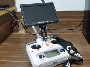 Very Simple Foldable FPV Monitor Mount