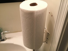 Omnidirectional Paper Towel Holder