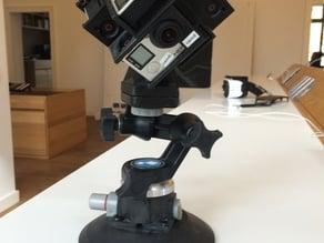 GoPro 360 Rig (spherical mount)