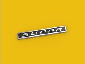 SUPER Emblem
