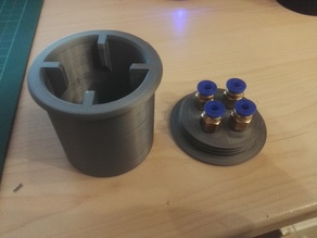 SAMLA/LACK FILAMENT FEEDER SYSTEM for PC4-M6 Fittings