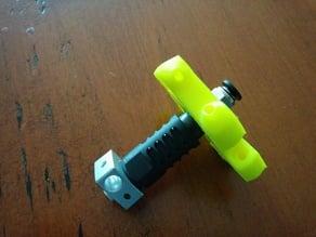 Kossel Mini Effector 1/8 BSP Bolt through into J-Head Bowden Hot End