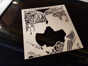 Wedding stencil (Gift)