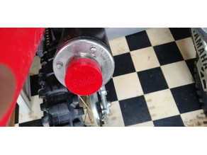 Exhaust cap for Honda Crf230f