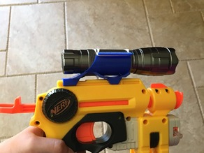 Nerf Flashlight mount 30mm