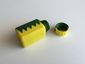 ZigZag Bottle & Screw Cup (Dual Extrusion / 2 Color)