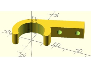 Snap On PVC Pipe Panel Hinge