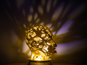 Acidhead (psychedelic lamp)
