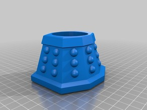 Dalek Egg cup EGGSTERMINATE!!!!!!