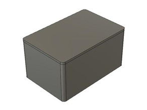 Project box with snap on lid (parametric)