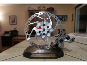 Bicycle rotor clock 2