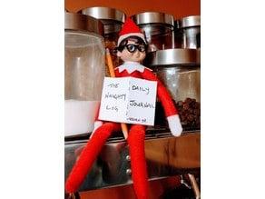Elf on the shelf glasses