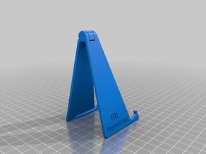 Foldable smartphone stand