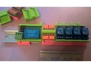 Arduino. DIN рейка