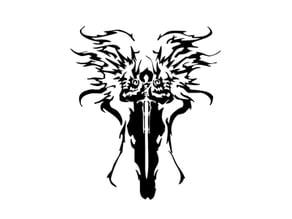 Diablo Tyrael Stencil