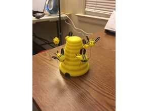 Spinning Desktop Bee Hive
