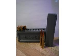 20 pc Ammo box (6,5x55)
