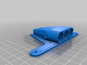 Ender 3 V8 'Supercharger Scoop' Fan Cover - Flat Edition