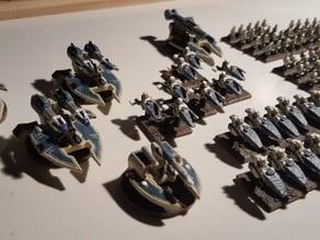 Epic Scale Eldar Aspect Warriors Proxy