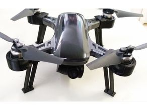 JJRC X9 heron landing gear remix