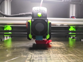 HevoRS Voron Edition X Carrier with BLTouch Mount