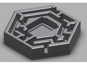 Terraforming Mars - Hedge Maze Tile