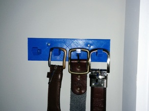Belt Rack 4 Prongs