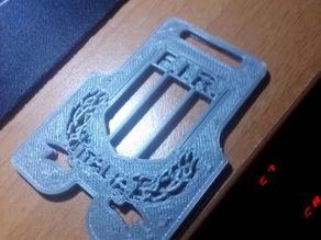 FIR ITALIA RUGBY keyrign keychain