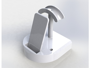 Phone, Headphones, and Pen Dock With A Charger Slot