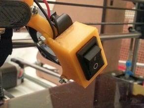 40mm Fan Mount Rocker Switch