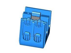 GoPro Hero 3 through 7 battery and MicroSD card 2 Battery holder