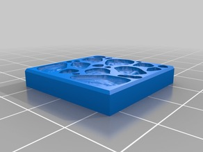 25mm Dungeon Tile Molds for Bakeable Clay V2