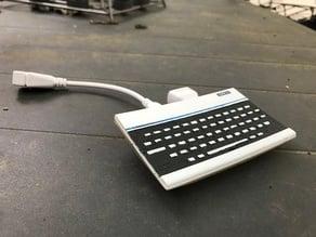 Oric 1 Atmos Raspberry PI zero case