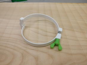 Hose clamp for dust collection hoses