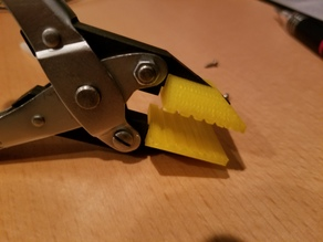 Custom interchangeable plier tips