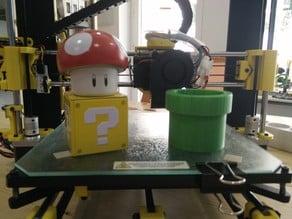 Maceta tubería Mario. Mario pipe flower pot.