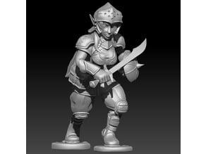 Halfling Warrior (female)
