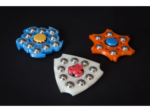 "Fidget Toy Hand Spinners for 1/2"" Ball Bearings"