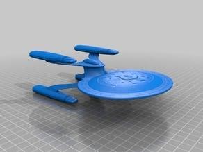Star Trek TNG Cheyenne Class Dreadnought fan design