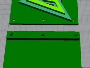 Green Arrow Belt Buckle Cover