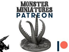 Tentacles - JOIN OUR Monster Miniature PATREON