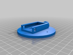 Polaroid Action cam mount for RC boat and other items.