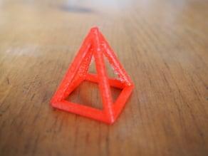 Parametric Hollow Lattice Pyramid