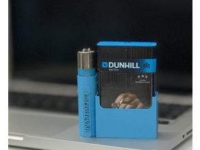 Clipper + cigarette holder