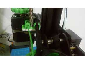 Compact Filament Guide/Cable Holder for Ender-2