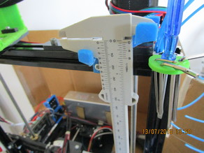 Holders for 3D Printer Hand Tools on 2020 Rail