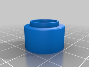 Anycubic i3 Mega E3D V6 Clone Adapter / longer Version
