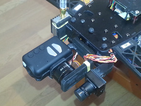 RS Gimbal for Mobuis HD camera for Nex Neo quad - UPDATED Feb 2014